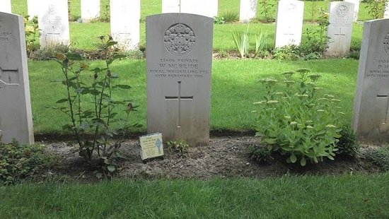WW1 Tours: Authuille, British Military Cemetery. 15th August 2013
