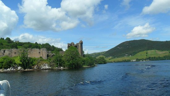 Loch Ness by Jacobite : The Castle from the Loch.