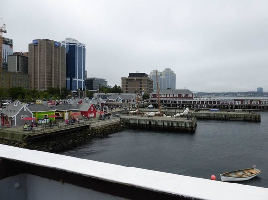 "View of Historic Properties from the deck of the ""Acadia"", by the Martime Museum of the Atlantic"