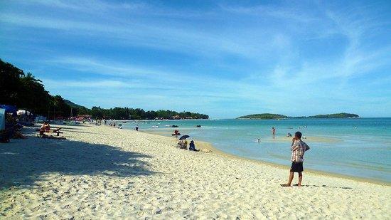 Chaweng Noi Beach: vista spiaggia parte nord