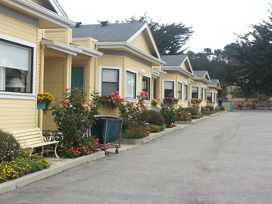 White Water Inn : Welcoming flowers and window boxes to welcome you