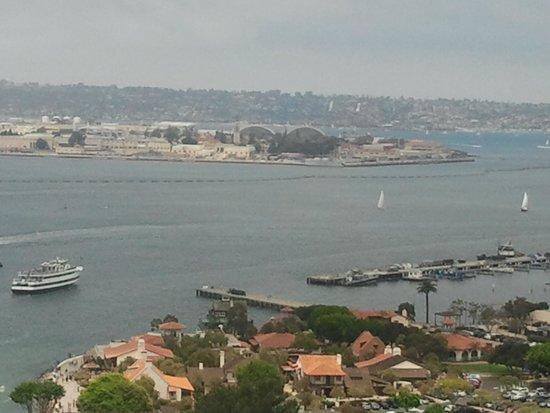 Marriott Marquis San Diego Marina: View from room/balcony