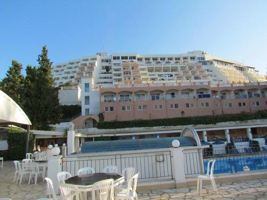 Sunshine Corfu Hotel & Spa: Vue de l'hôtel