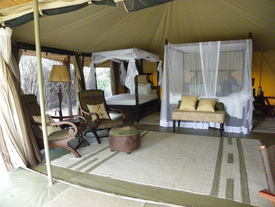 Mara Ngenche Safari Camp: Our luxurious tents