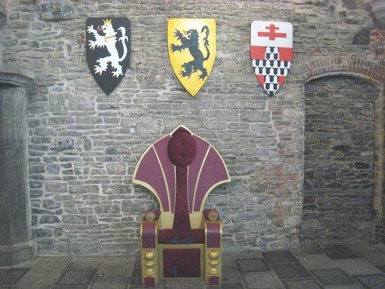 Gravensteen Castle : Heraldic emblems