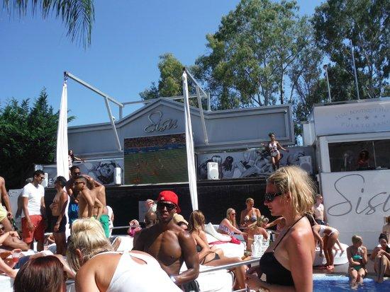 Sisu Boutique Hotel & Spa: Pool party!