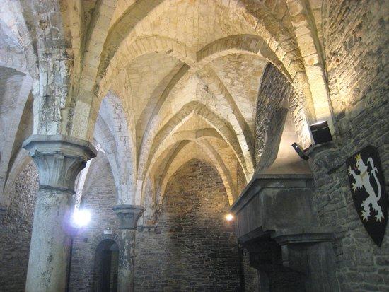 Gravensteen Castle : Lovely vaulted roof