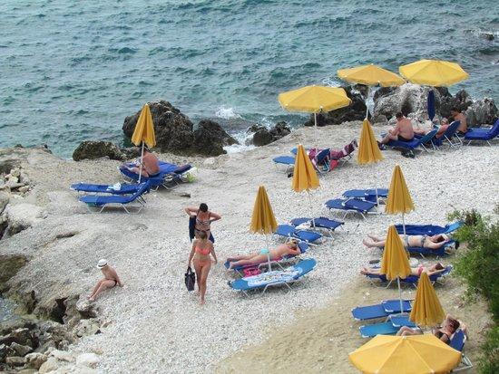 Sunshine Corfu Hotel & Spa: Plagehôtel