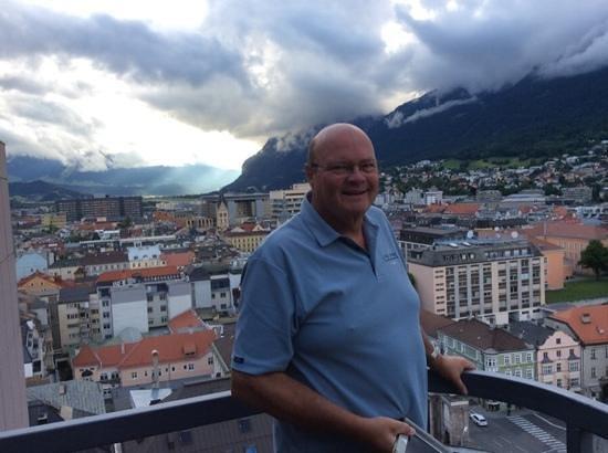 Hilton Innsbruck: View from 1402