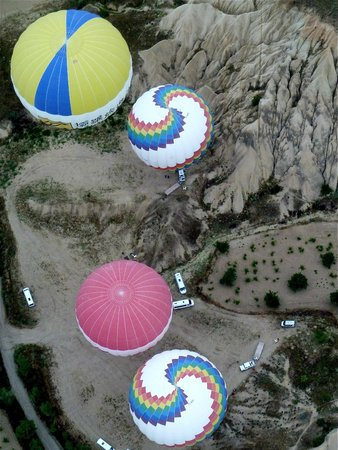 Butterfly Balloons: Hot air ballooning in Cappadocia