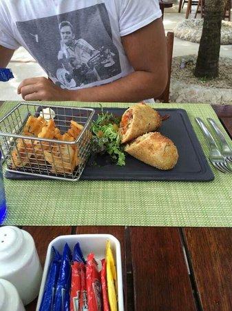 El Dorado Sensimar Riviera Maya: Burrito @ Gourmet burger kitchen