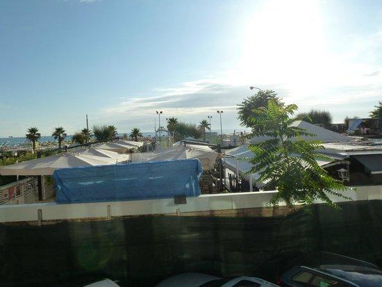 Ferretti Beach Hotel : Aussicht