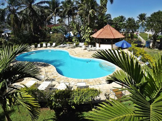 Hotel Porto do Eixo : Vista da piscina