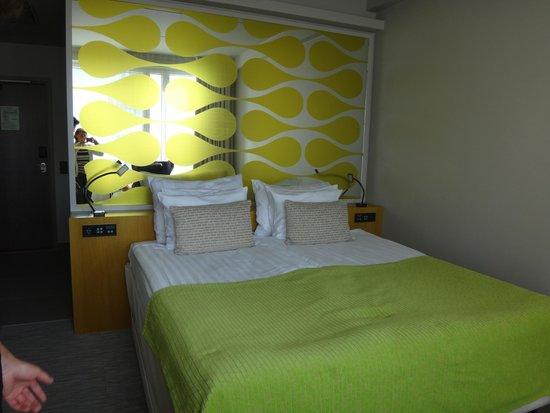 Solo Sokos Hotel Paviljonki: Кровать
