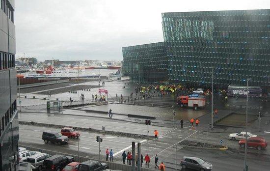 Centerhotel Arnarhvoll: View from our window