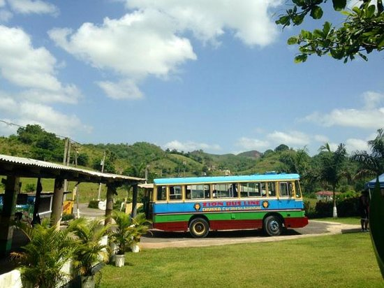 Sandals Ochi Beach Resort: Zion Bus Line