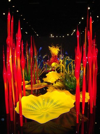 Chihuly Garden and Glass : MY FAVORITE INSIDE DISPLAY...GORGEOUS!
