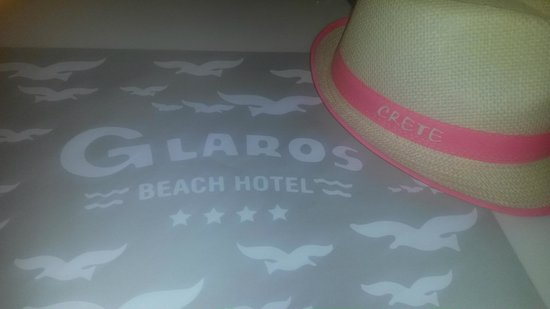 Glaros Beach Hotel : Dinner :-)