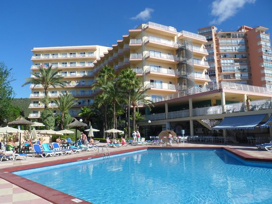 Globales Palmanova : hotel