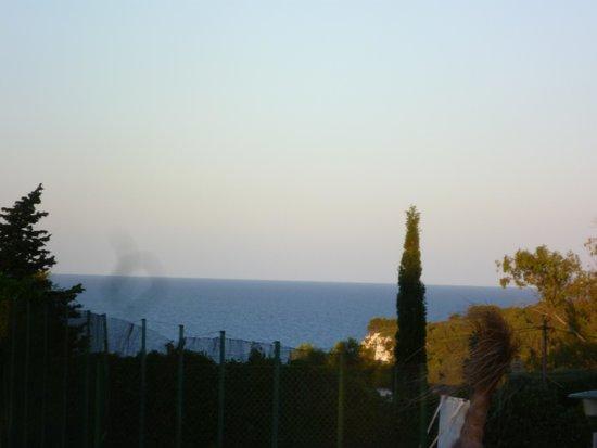 Club Marmara Del Mar: la vue de la terrasse