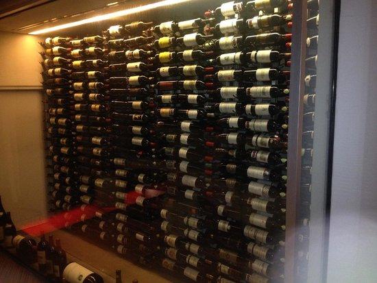 Wine Room at La Perla