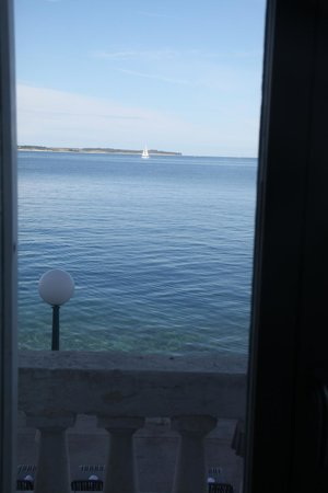 Hotel Piran : view from balcony