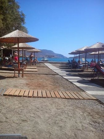 SENTIDO Elounda Blu: The beach