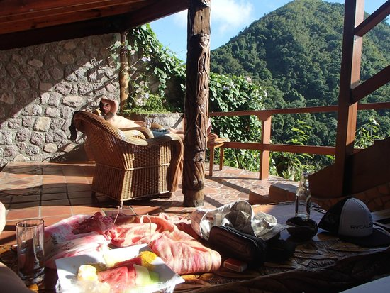 Ladera Resort: Enjoying the million dollar view