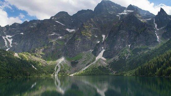 Lake Morskie Oko: Lago Morskie Oko