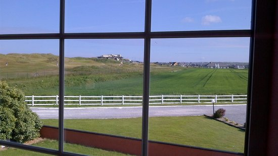 Cashen Course House: View from room looking at golf club