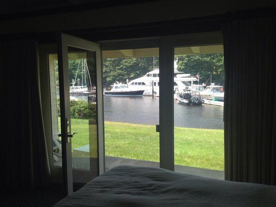 Yachtsman Lodge & Marina: Great view from our room