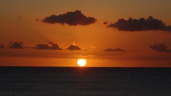 Maritim Resort & Spa Mauritius : Sunset from our balcony