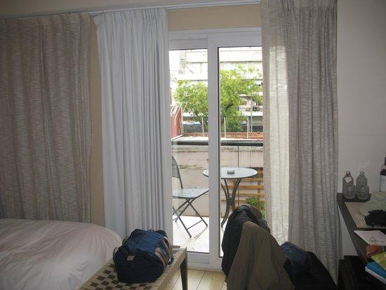 BoBo Hotel: Our Room Toward the Balcony