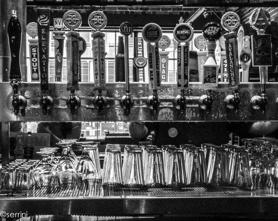 Breckenridge Brewery: the taps