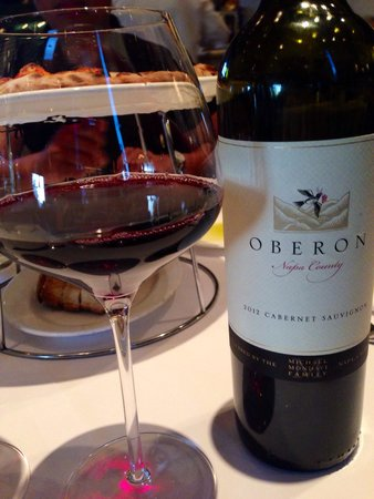 Bistro Don Giovanni: Oberon 2012 Cabarnet Sauvignon ($45)