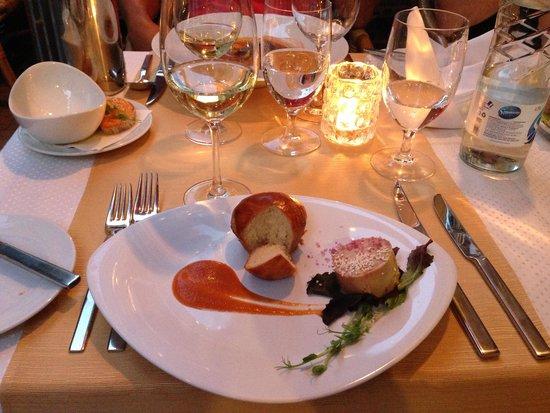Borsso Bistro: Goose Liver & Apricote Spread