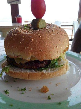 The West Deck: Beach burger