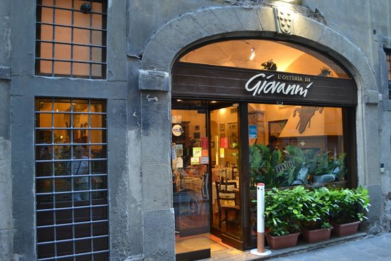 L'Osteria di Giovanni: My Photo of front of restaurant.