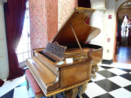 The Ringling: Piano in the Main Hall is still played once a month
