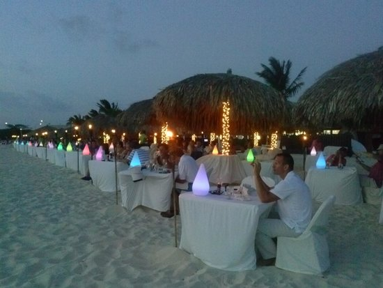 Passions on the Beach: Beautiful with lights all around