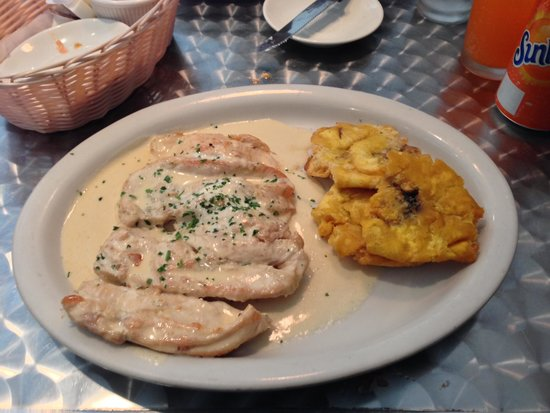 Cafe Charlotte : Chicken with mushrooms