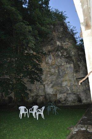 Auberge de La Chapelle : jardin