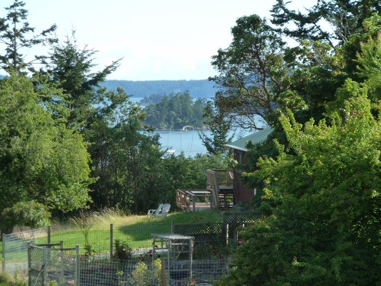 Deer Harbor Inn: View from the top deck
