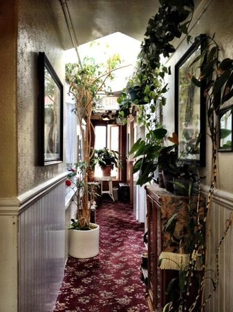 San Remo Hotel : One of the quaint hallways