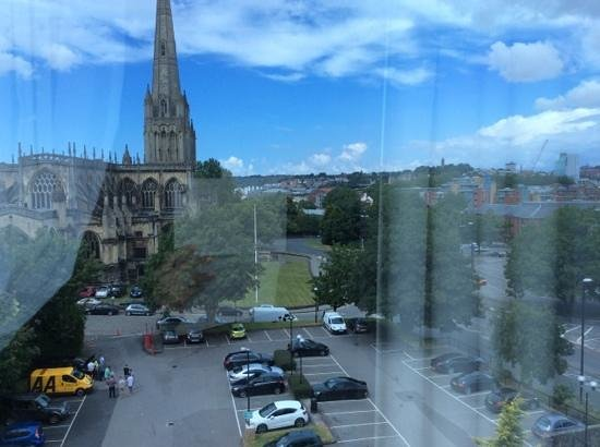 DoubleTree by Hilton Hotel Bristol City Centre: view from the room