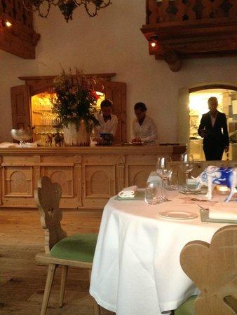 Talvo by Dalsass: Restaurant interieur.