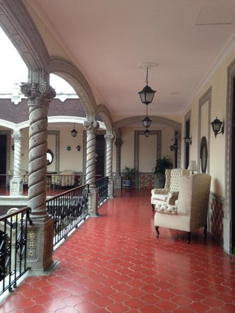Hotel Morales Historical & Colonial Downtown Core: Corredores