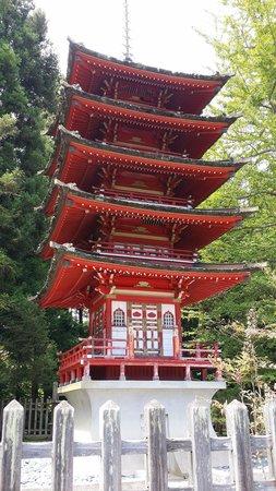 Japanese Tea Garden : Tower