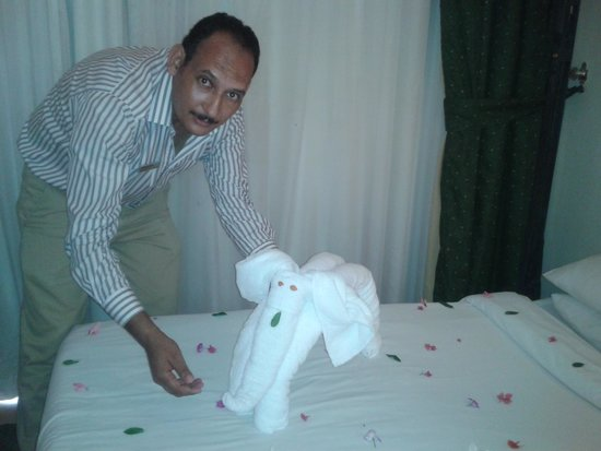 Hilton Hurghada Long Beach Resort: شكرا مستر محمد عبد الرحمن مجهود رائع لإسعادنا