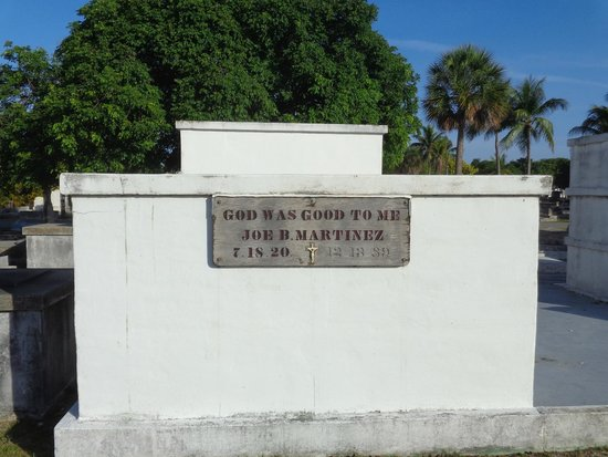 Key West Cemetery: God Was Good To Me